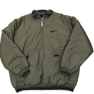 Nike 1/2 Zip Big Swoosh Insulated Vintage Coat